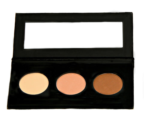 NATURAL VIBRANCE EYE SHADOW KIT - Ultra Matte Suede - Love For Humanity Organics