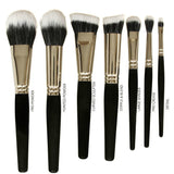 VEGAN BRUSH PRO COLLECTION - Duo Fiber - Love For Humanity Organics