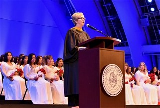 Immaculate Heart Speaker at Graduation