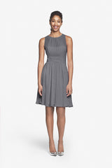 PORTER BRIDESMAID DRESS PEWTER