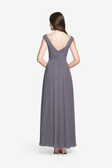 ELIZABETH BRIDESMAID GOWN SHADOW