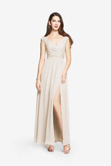 ELIZABETH BRIDESMAID GOWN IVORY