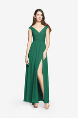 EMERALD bridesmaid gown. Elizabeth bridesmaids gown for wedding party.