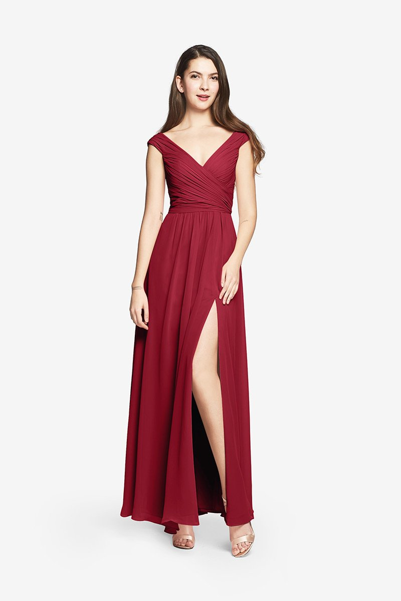 Elizabeth Bridesmaid Gown Gather And Gown
