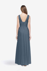 DELANO BRIDESMAID GOWN TIMELESS BLUE