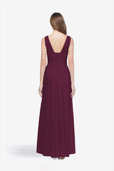 DELANO BRIDESMAID GOWN RASPBERRY