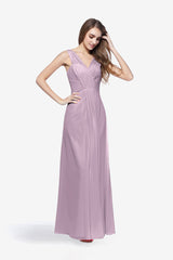 DELANO BRIDESMAID GOWN LILAC