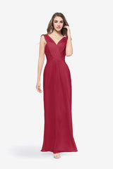DELANO BRIDESMAID GOWN RUBY