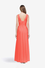 DELANO BRIDESMAID GOWN TULIP
