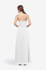 ABBOTT GOWN WHITE
