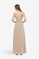 ABBOTT BRIDESMAID GOWN MOCHA