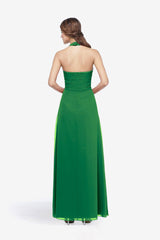 ABBOTT BRIDESMAID GOWN EMERALD