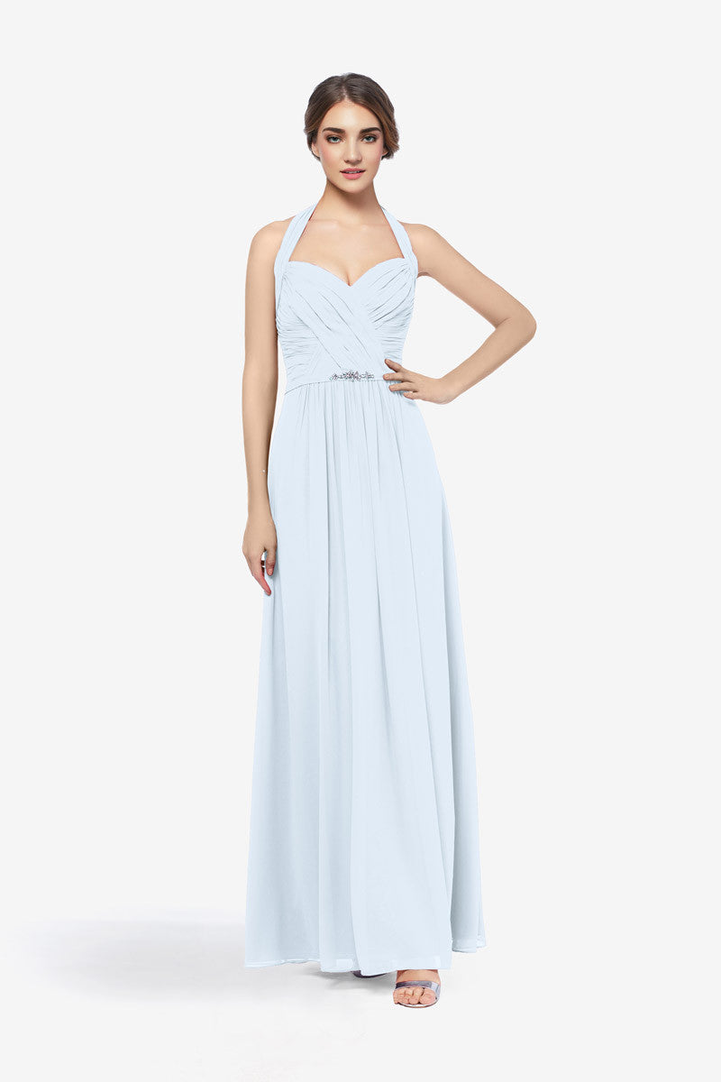 Light Blue wedding party dress | Gather and Gown Bridesmaids