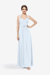 ABBOTT BRIDESMAID GOWN LIGHT BLUE