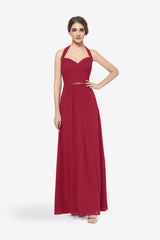 ABBOTT BRIDESMAID GOWN RUBY