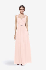 ABBOTT BRIDESMAID GOWN ROSE QUARTZ