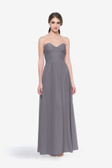 WHITELEY BRIDESMAID GOWN SHADOW FRONT VIEW