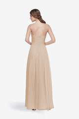 WHITELEY BRIDESMAID GOWN MOCHA