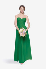 WHITELEY BRIDESMAID GOWN EMERALD