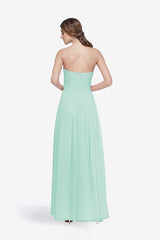WHITELEY BRIDESMAID GOWN SEA GLASS