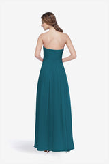WHITELEY BRIDESMAID GOWN TEALNESS