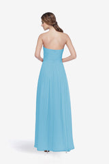 WHITELEY BRIDESMAID GOWN TURQUOISE