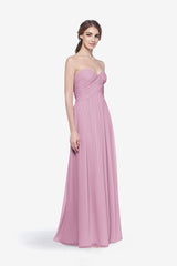 WHITELEY BRIDESMAID GOWN ORCHID FRONT VIEW
