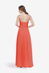WHITELEY BRIDESMAID GOWN CORAL