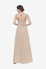 REED BRIDESMAID GOWN MOCHA