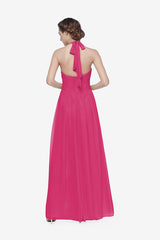 REED BRIDESMAID GOWN HOT PINK