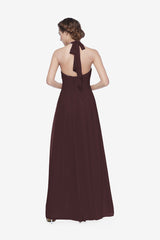 REED BRIDESMAID GOWN MINK