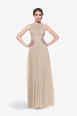 TOBY BRIDESMAID GOWN MOCHA
