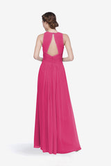 TOBY BRIDESMAID GOWN HOT PINK