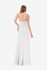 JESSICA BRIDESMAID GOWN WHITE