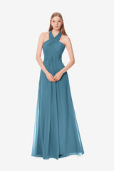 JESSICA BRIDESMAID GOWN OCEAN