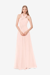 JESSICA BRIDESMAID GOWN ROSE QUARTZ