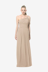 MELISSA BRIDESMAID GOWN MOCHA