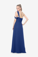 MELISSA BRIDESMAID GOWN ROYAL