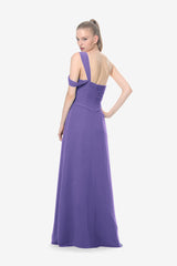 MELISSA BRIDESMAID GOWN PURPLE