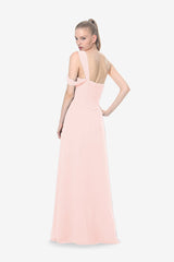 MELISSA BRIDESMAID GOWN ROSE QUARTZ