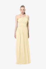 MELISSA BRIDESMAID GOWN SOFT YELLOW