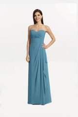 BRIANNA BRIDESMAID GOWN OCEAN