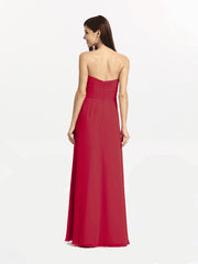 BRIANNA BRIDESMAID GOWN RUBY