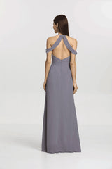KELSEY BRIDESMAID GOWN SHADOW