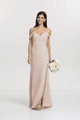 PEWTER KELSEY BRIDESMAID GOWN