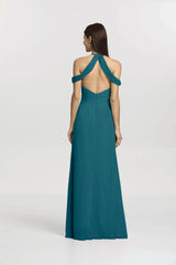 KELSEY BRIDESMAID GOWN TEALNESS