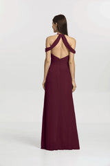 KELSEY BRIDESMAID GOWN RASPBERRY