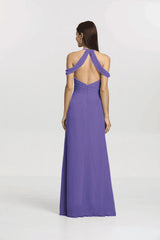 KELSEY BRIDESMAID GOWN PURPLE