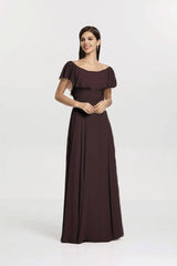 SHELBY BRIDESMAID GOWN MINK