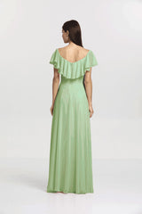 SHELBY BRIDESMAID GOWN SAGE
